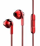 Baseus Encok H03 Mikrofonlu Kırmızı Kulakiçi Kulaklık