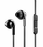 Baseus Encok H03 Mikrofonlu Siyah Kulakiçi Kulaklık
