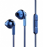 Baseus Encok H03 Mikrofonlu Lacivert Kulakiçi Kulaklık