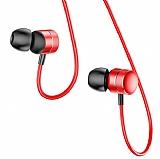 Baseus Encok H04 Mikrofonlu Kulakiçi Kırmızı Kulaklık