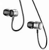 Baseus Encok H04 Mikrofonlu Kulakiçi Silver Kulaklık