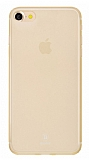Baseus Frosting iPhone 7 / 8 Ultra İnce Gold Rubber Kılıf