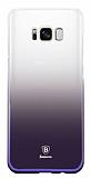 Baseus Glaze Samsung Galaxy S8 Mor Rubber Kılıf
