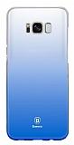 Baseus Glaze Samsung Galaxy S8 Mavi Rubber Kılıf