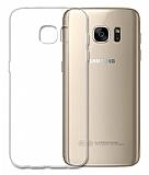 Baseus Samsung Galaxy S7 Edge Şeffaf Rubber Kılıf