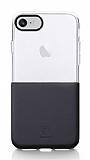 Baseus Half to Half iPhone 7 Siyah Silikon Kılıf