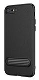Baseus Happy iPhone 7 / 8 Standlı Deri Görünümlü Silikon Kılıf