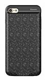 Baseus iPhone 6 / 6S Siyah Bataryalı Kılıf