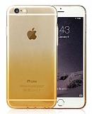 Baseus iPhone 6 Plus / 6S Plus illusion Sarı Silikon Kılıf