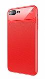 Baseus Knight iPhone 7 Plus / 8 Plus Kırmızı Silikon Kılıf