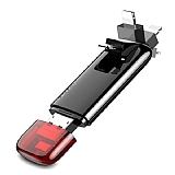 Baseus Red Obsidian Z1 Lightning / Micro USB Flash Bellek 32 GB