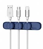 Baseus Peas Cable Manyetik Kablo Tutucu ve Ayrıştırıcı
