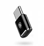 Baseus Micro USB Girişini USB Type-C Girişe Dönüştürücü Adaptör