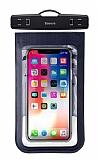 Baseus Multi-Functional Universal Su Geçirmez Cep Telefonu Lacivert Kılıfı