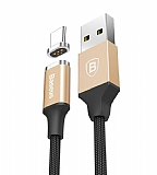 Baseus New Insnap USB Type-C Gold Manyetik Data Kablosu 1m