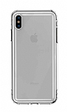 Baseus Safety Airbags iPhone XS Max Şeffaf Siyah Silikon Kılıf