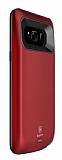 Baseus Samsung Galaxy S8 5000 mAh Bataryalı Kırmızı Kılıf