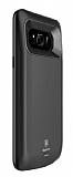 Baseus Samsung Galaxy S8 5000 mAh Bataryalı Siyah Kılıf