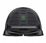 Baseus Silicone Horizontal Siyah Kablosuz Şarj Cihazı