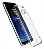 Baseus Simple Samsung Galaxy S8 Şeffaf Silikon Kılıf