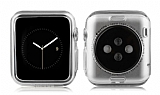 Baseus Simple Series Apple Watch / Watch 2 Şeffaf Silikon Kılıf (38 mm)