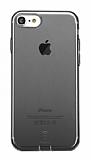 Baseus Simple Series iPhone 7 / 8 Şeffaf Siyah Silikon Kılıf