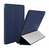 Baseus Simplisim Y-Type iPad Pro 12.9 Kapaklı Lacivert Deri Kılıf