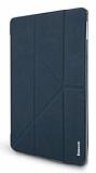 Baseus Simplism Y-Type iPad 9.7 Standlı Lacivert Deri Kılıf