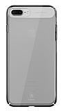 Baseus Sky iPhone 7 Plus Şeffaf Siyah Rubber Kılıf