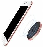 Baseus Small Ears Flat Type Manyetik Universal Rose Gold Araç Tutucu