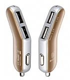 Baseus Smart Thin Business �ift USB Giri�li Gold Ara� �arj�