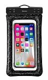 Baseus Universal Suda Batmayan Cep Telefonu Siyah Kılıfı