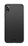 Baseus Wing iPhone XR Ultra İnce Siyah Rubber Kılıf