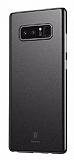 Baseus Wing Samsung Galaxy Note 8 Ultra İnce Siyah Rubber Kılıf