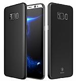 Baseus Wing Samsung Galaxy S8 Plus Ultra İnce Siyah Rubber Kılıf