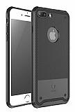 Baseus Shield Case iPhone 7 Plus Siyah Ultra Koruma K�l�f