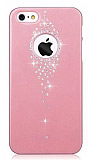 Joyroom iPhone 5 / 5S Ta�l� Pembe Rubber K�l�f