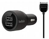 Belkin �ift USB Giri�li 2.1 AMP Ara� �arj Aleti