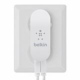 Belkin Duvar Tipi Şarj Cihazı + Apple Lightning Orjinal USB Beyaz Data Kablosu