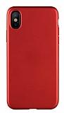 Benks Comfort iPhone X / XS Kırmızı Silikon Kılıf
