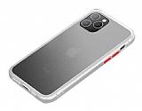 Benks iPhone 11 Pro Magic Smooth Drop Beyaz Silikon Kılıf