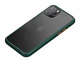 Benks iPhone 11 Pro Magic Smooth Drop Yeşil Silikon Kılıf
