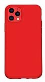 Benks iPhone 11 Pro Max Kırmızı Silikon Kılıf