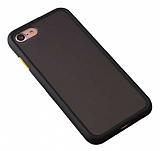 Benks iPhone 7 / 8 Magic Smooth Drop Siyah Silikon Kılıf