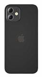 Benks Lollipop iPhone 12 6.1 inç Siyah İnce Rubber Kılıf