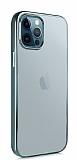 Benks Magic Glitz iPhone 12 Pro Max 6.7 inç Koyu Yeşil Silikon Kılıf