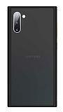 Benks Samsung Galaxy Note 10 Magic Smooth Drop Siyah Silikon Kılıf
