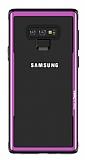 Benks Shiny Glass Samsung Galaxy Note 9 Cam Mor Kılıf