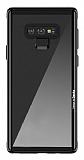 Benks Shiny Glass Samsung Galaxy Note 9 Cam Siyah Kılıf