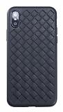 Benks WeaveIt iPhone XS Max Siyah Silikon Kılıf